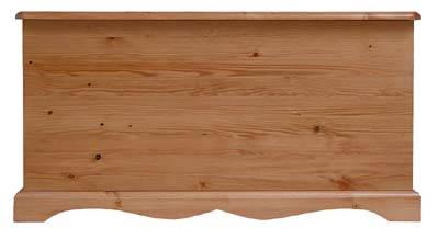 Blanket Box. All solid pine with no plywood - CLICK FOR MORE INFORMATION