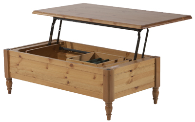 Pine COFFEE TABLE DINER Coffee Table Review Compare