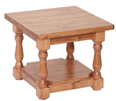 Pine Coffee Table Small With Shelf Devonshire Review Compare Prices Buy Online