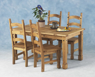 Cheap Dining Tables  Chairs on Images Of Pine Dining Table And Chairs