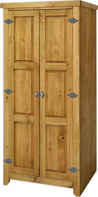 pine Double Wardrobe All Hanging Amalfi Value product image