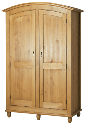 pine Double Wardrobe All Hanging Provencal product image