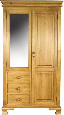 pine DOUBLE WARDROBE COMBINATION OGEE Pt4 product image