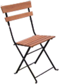 Pine folding chair from the Shaftesbury Range of Furniture. - CLICK FOR MORE INFORMATION
