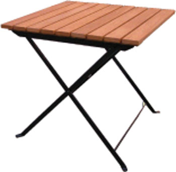 Pine folding table from the Shaftesbury range of Furniture. - CLICK FOR MORE INFORMATION