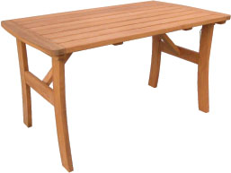 Large pine garden table fromt the Shaftesbury Range of Furniture. - CLICK FOR MORE INFORMATION