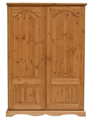 pine MIDI DOUBLE WARDROBE BADGER product image