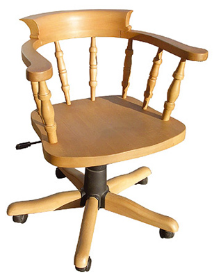 pine office chair. Pine Office Chair C