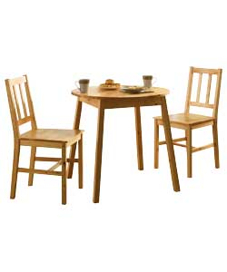 PINE Dining Table And 2 Chairs Review Compare Prices Buy Online