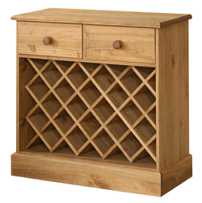 WINE RACK WITH DRAWERS COTSWOLD