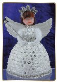 Sequin art, Pinflair Doll - Angelina White/Silver