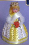 Sequin art, Pinflair Doll - Carnival Princess