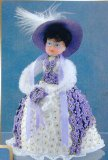 Sequin art, Pinflair, Lacy doll - Miss Molly purple