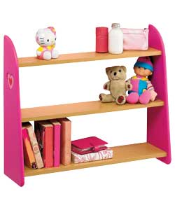 Pink Hearts 3 Shelf Unit product image