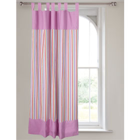 Pink Voile Tab Top Curtains - 66 x 90 inches. Reviews, Pink Voile