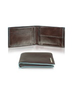 Piquadro Blue Square - Mens Leather Card Holder and product image