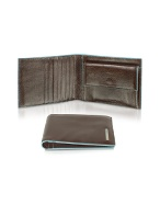 Piquadro Blue Square-Mens Billfold Leather Wallet product image