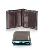 Piquadro Blue Square-Mens Leather ID Wallet product image