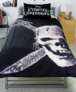 Pirates Of The Caribbean Single Duvet Set Review Compare Prices Buy Online