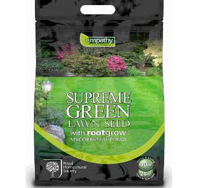 Plantworks Ltd Empathy RHS 1Kg Supreme Lawn Seed with Rootgrow - Green