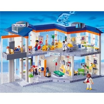 Playmobil hospital for Maison moderne lego