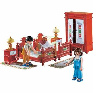 Play Toy Mansion http://www.comparestoreprices.co.uk/role-play-toys/playmobil-grand-mansion-victorian-bedroom.asp