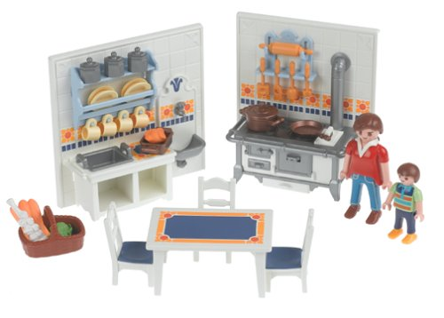 Playmobil building toys reviews for Cuisine playmobil