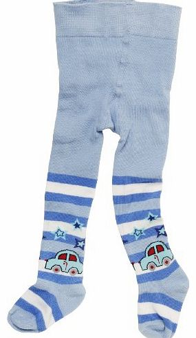 Playshoes High Quality Car Baby Boys Tights Original 6-12 months