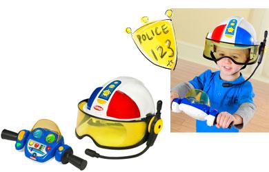 Playskool kids clothes boys - Playskool helmet heroes police officer ...