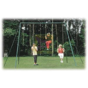 Plum Products Galvanised Adult Swing Set