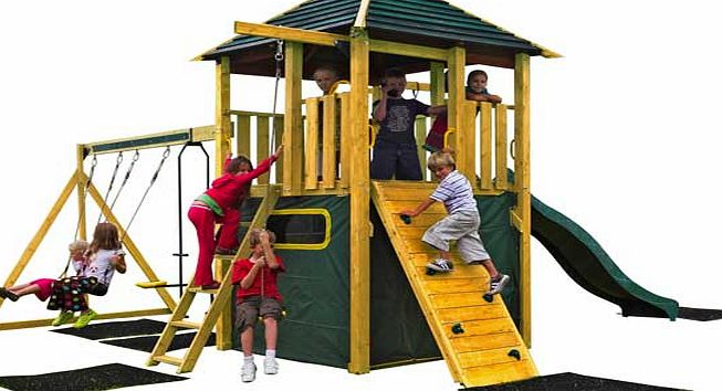 Plum Products Plum Warthog Wooden Climbing Frame Outdoor Play product image