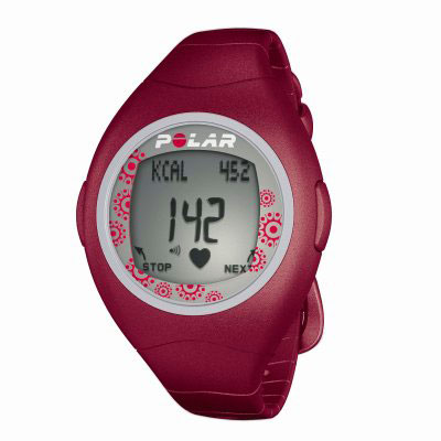 Polar F4F Red Heart Rate Monitor Watch (90031488) - review, compare