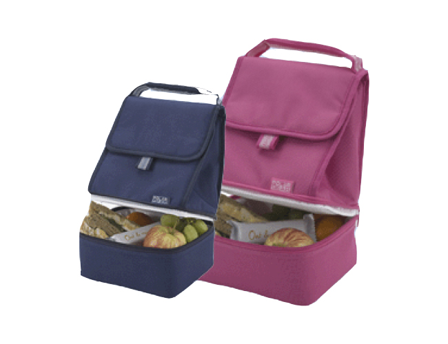 2 Compartment Lunch Cooler