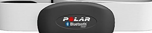 POLAR  - H7 - Bluetooth 4.0 Heart Rate Sensor Set for iPhone 4S/5 and Android 4  - RED