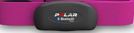 POLAR  H7 Bluetooth 4.0 Heart Rate Sensor Set for iPhone 4S/5 - Pink, Size - L