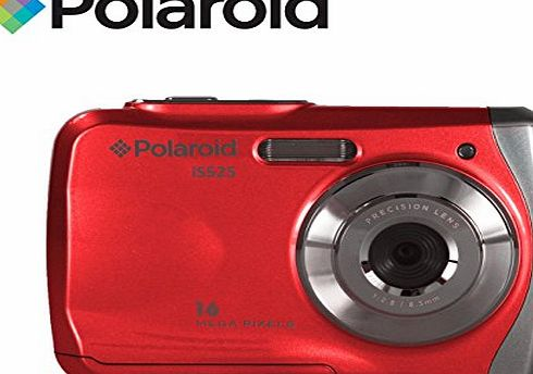 Polaroid Waterproof Camera 16MP Underwater Compact Digital Camera Polaroid IS525 Waterproof to 3 Metres with 16 Megapixel resolution, 2.4`` Screen (Blue)