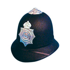One of a series of police helmets and hats. We also sell police related products like handcuffs, bat - CLICK FOR MORE INFORMATION