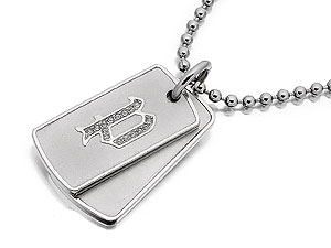 Stainless Steel Dog Tag 019801