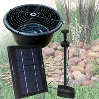 Pondxpert Solar Pebble Pond Kit 300