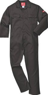 Portwest, 1228[^]2508H Bizweld Flame-Resistant Coverall Black