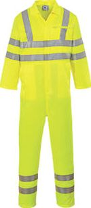 Portwest, 1228[^]8886H E042 Hi-Vis Coverall Yellow X Large