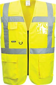 Portwest, 1228[^]5269H Hi-Vis Thermal Waistcoat Yellow Medium