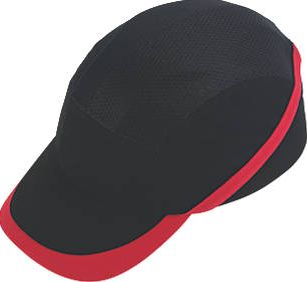 Portwest, 1228[^]7247D Vent Cool Bump Cap Black 7247D