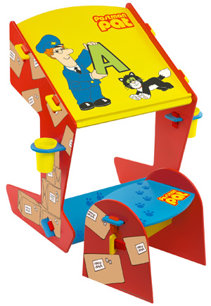 Postman Pat Car. Postman Pat Easel Desk and