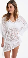 Pour Moi, 1295[^]265498 All About The Lace Kaftan - White