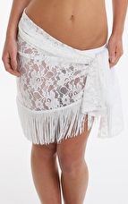 Pour Moi, 1295[^]265504 All About The Lace Sarong - White