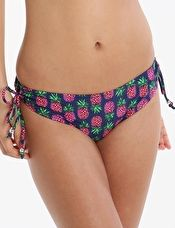 Pour Moi, 1295[^]276187 Pineapple Tie Brief - Navy