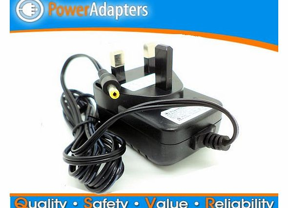 Power-adapters.co.uk Sony DVP-FX730 Portable DVD player ac/dc 9 volt power supply charger cable