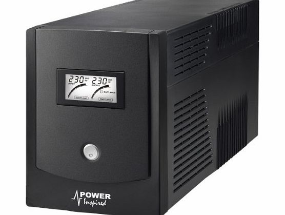 Power Inspired 2000VA Sinewave Battery Backup (UPS System)