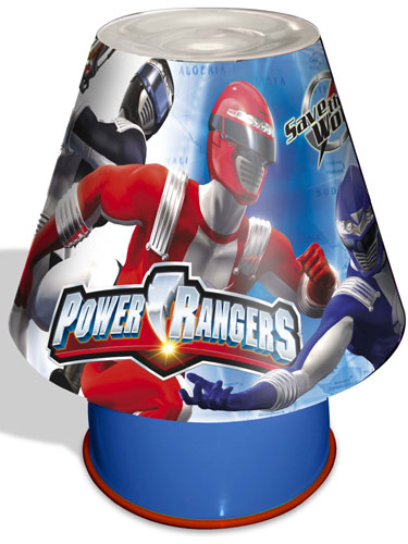 Power Rangers Bedroom: Power Rangers Bedside Kool Lamp Light